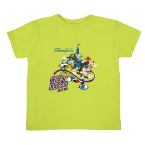 Hong Kong Disneyland 10K Weekend Presented by AIA Vitality_Event T-shirt (Kids Races)