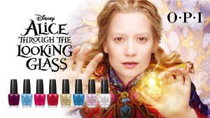 OPI · Disney Alice Through the Looking Glass系列 時空探索 帶領指尖遊歷魔幻世界