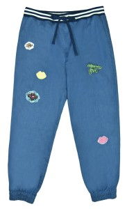 OPERA GIRL Badges Indigo Denim Jogger Jean HK$1,450