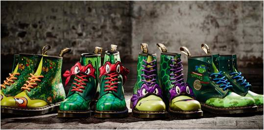【TURTLE POWER】DR.  MARTENS  X  忍者龜聯乘