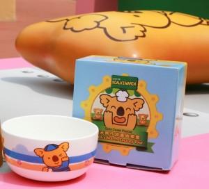 消費即可換領換領樂天熊仔限量版陶瓷碗乙個。
