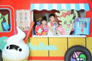 萌爆的地縛喵3D流動雪糕車絕對是大人和小朋友的至愛!