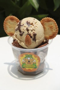 Angelato特製時節限定的「樂天熊仔樹熊意大利雪糕」。