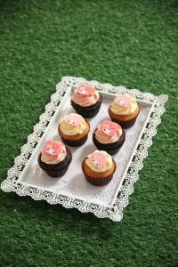 LINK_My Melody全城「綠」運會_My Melody 主題Snack Bar_My Melody 杯子蛋糕(士多啤梨朱古力味及夏日檸檬味)
