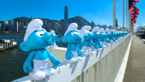 Smurf at Harbour City