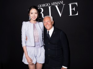 Zhang Zilin & Mr. Armani