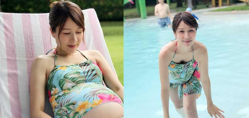 【媽媽泳裝】學鄺文珣穿減齡泳衣