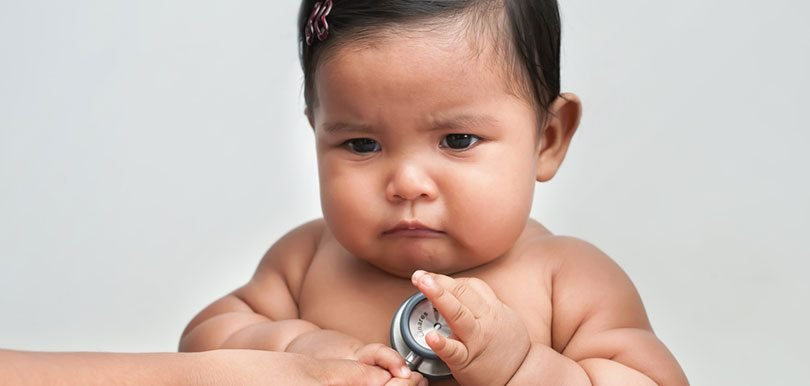 別把孩子養太胖   肥BB長大較易患抑鬱症