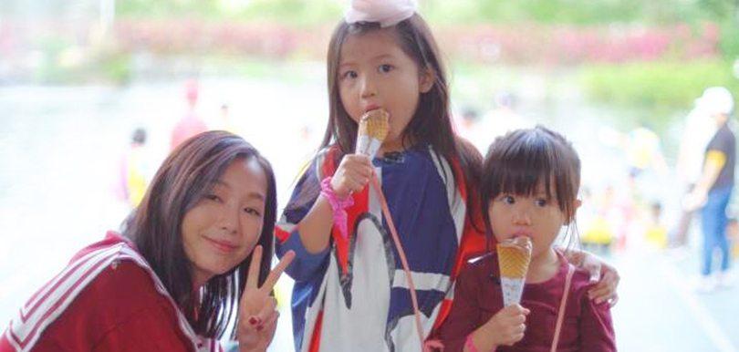 7歲大女好有愛  趙頌茹話:身教好重要