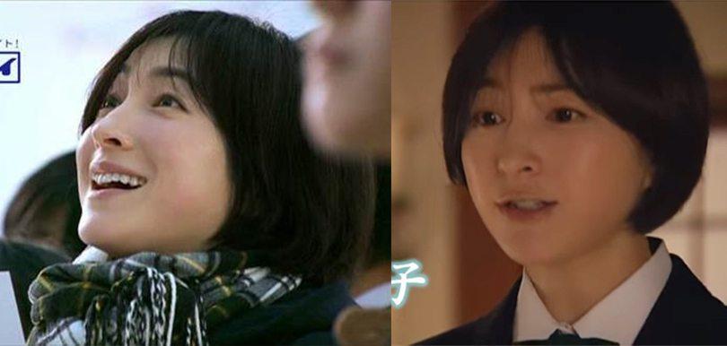 已經是三孩之母的廣末涼子,在廣告中演出高中少女的角色,神奇地沒有違和感!