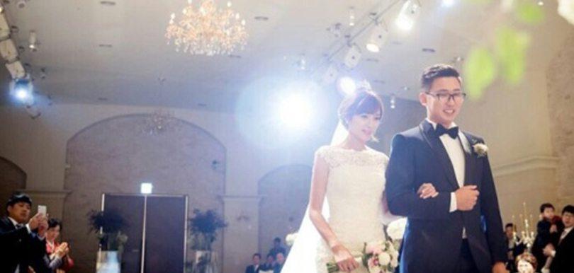 小雪補辦韓式婚禮幸福滿載,韓籍老公體貼又窩心