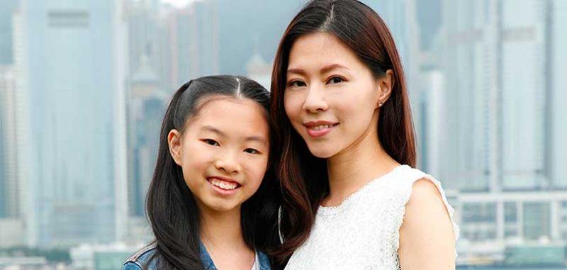 傅楚惠女兒幼稚園面試發高燒,小二轉校。傑出家長一路走來不容易