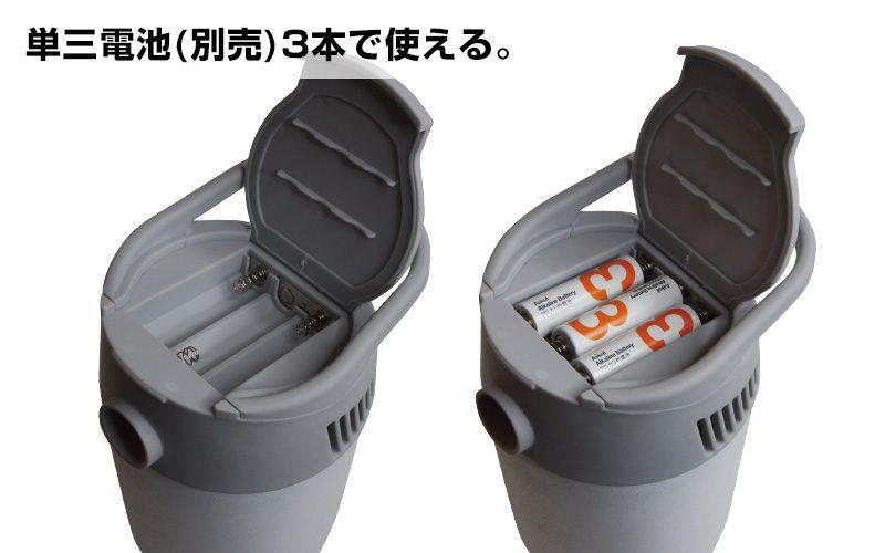 消暑必備日本發明手提冷氣機