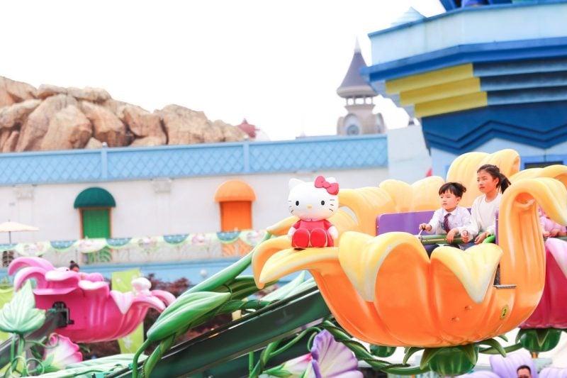 杭州全球最大Hello Kitty Park到底玩甚麼?
