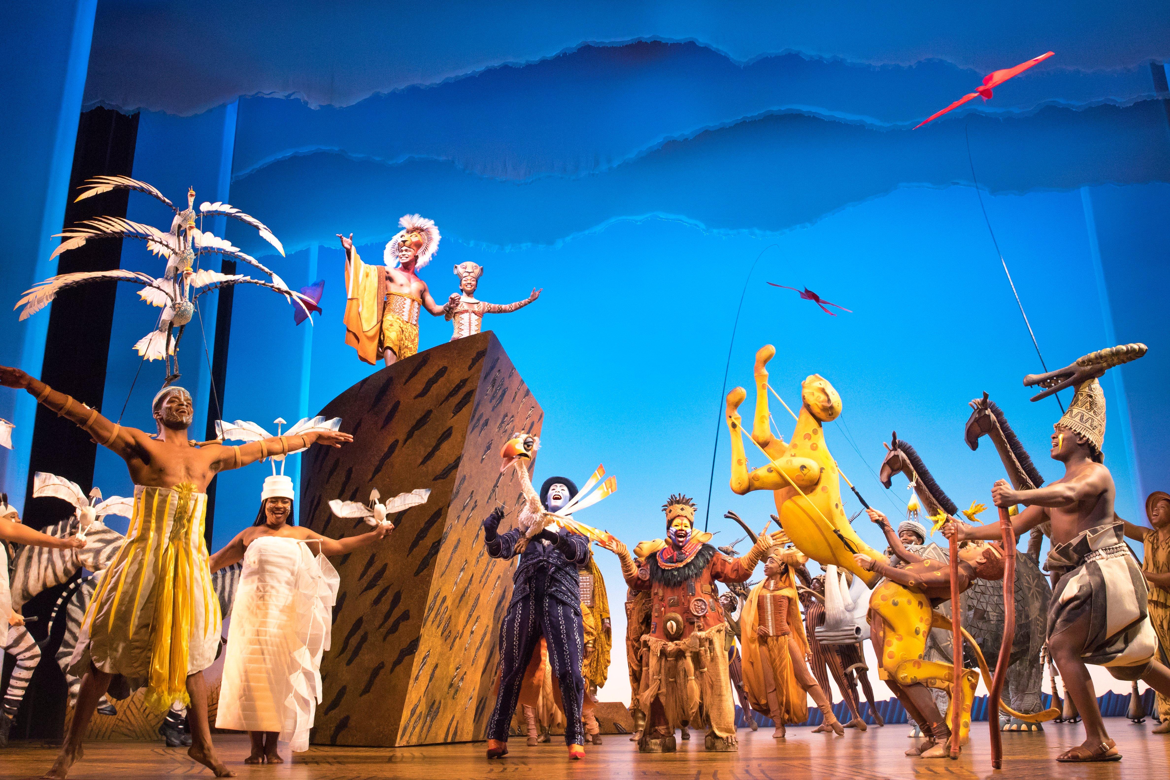 迪士尼著名經典音樂劇《獅子王》 12 月空降香港亞洲國際博覽館 Arena