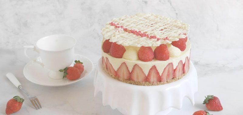 台式甜點自己造:期間限定可愛草莓甜甜圈