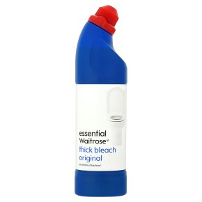 Essential Waitrose Thick Original Bleach