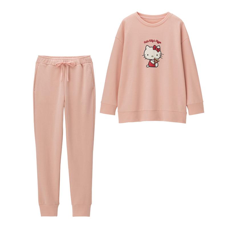 GU Hello Kitty 雨件套裝家居服 HK$179