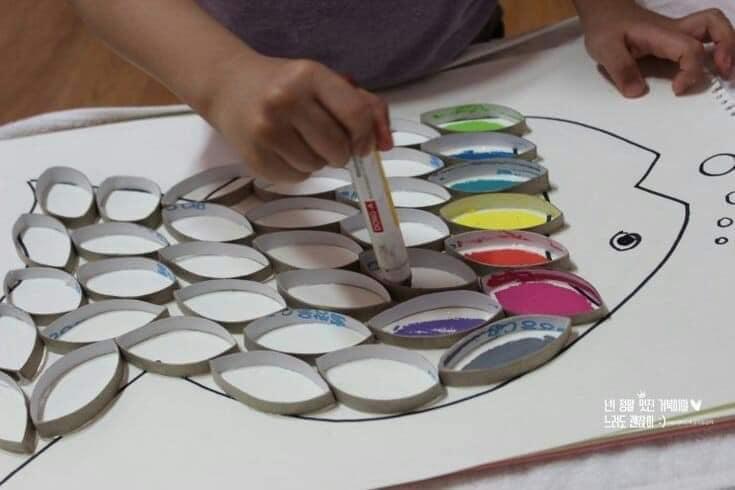 外國網站分享:小朋友手作圖工小遊戲創意點子