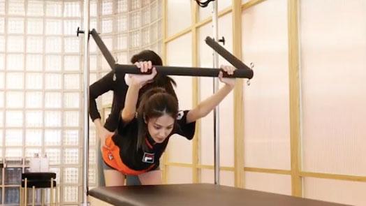 孕婦也可做運動?陳凱琳學做 Pilates 醫偏頭痛