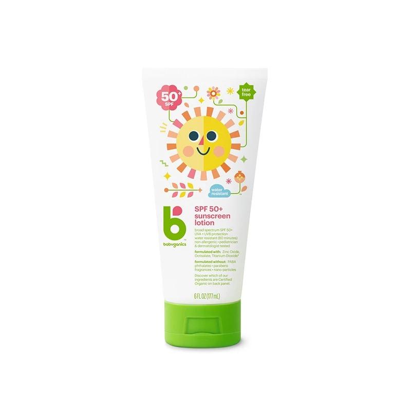 BABYGANICSSPF-50 寶寶防曬潤膚乳