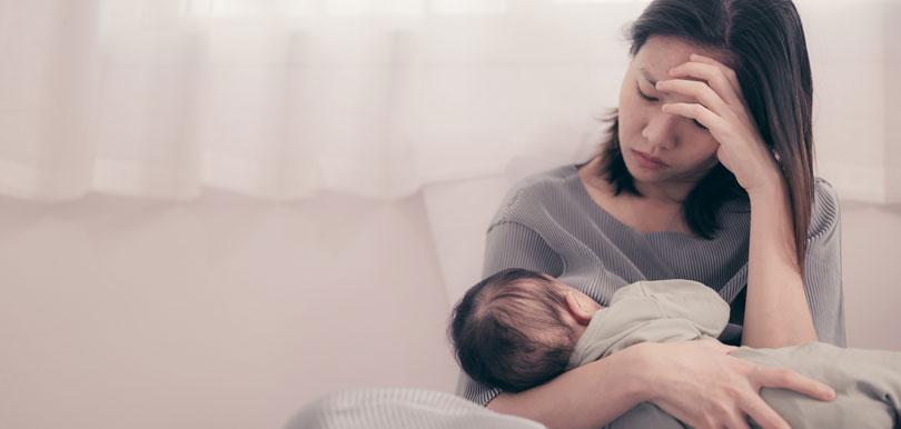 8個徵兆及早發現產後抑鬱症