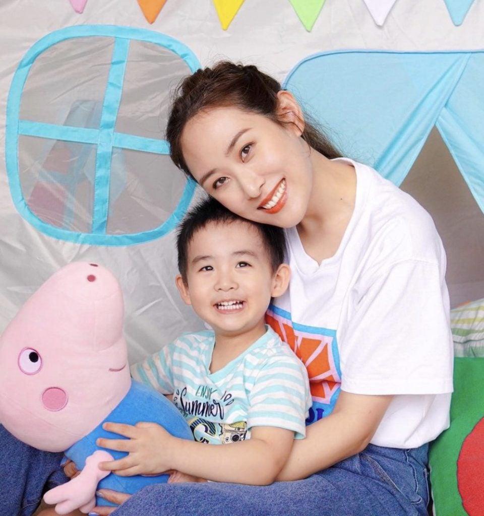 梁𧙗嘉Abella Leung:我不要兒子入行!