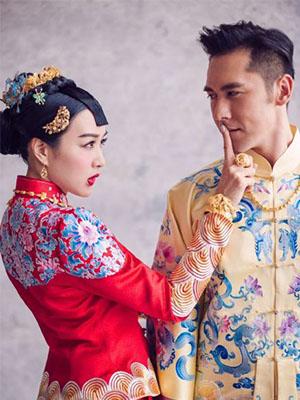 【曝光!】鍾麗緹張倫碩俏皮中式婚照