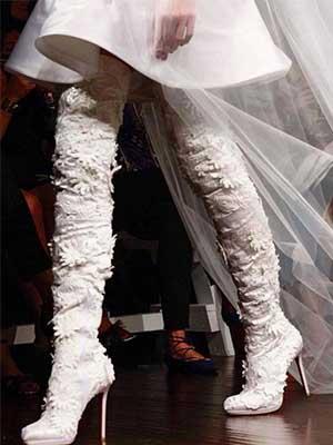 【型格新娘之選】結婚穿短裙長靴