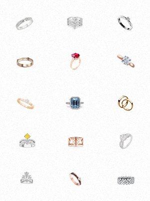 2017訂婚戒指潮流