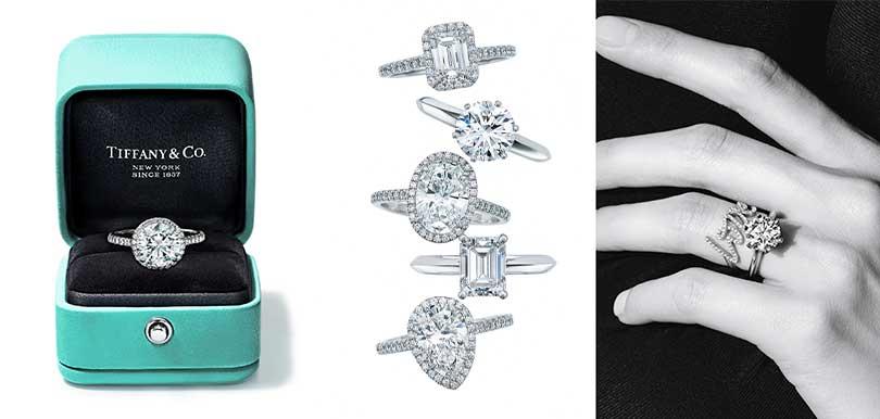 【求婚注意】TIFFANY全新訂婚鑽戒及禮盒