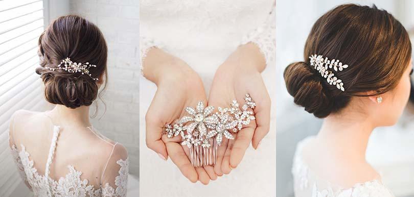 新娘髮型配襯甚麼頭飾才好?