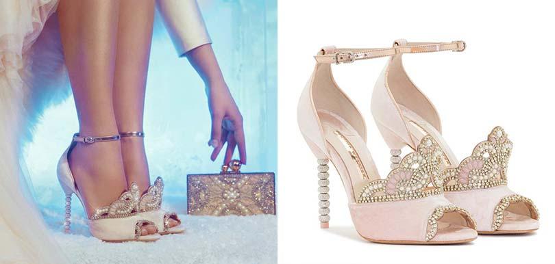 【夢幻婚鞋】SOPHIA WEBSTER推出 《冰雪奇緣》高跟鞋