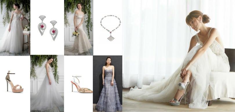 陳凱琳婚紗婚鞋,出自哪些品牌?+6款搭配靈感