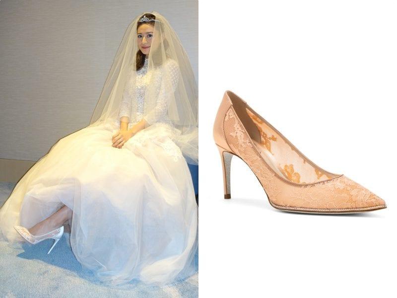 江若琳蕭潤邦結婚!完美示範美腿新娘都該穿短裙