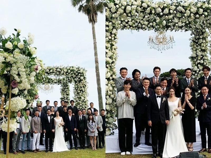 朱鎮模結婚娶醫界金泰希閔惠妍韓國辦婚禮