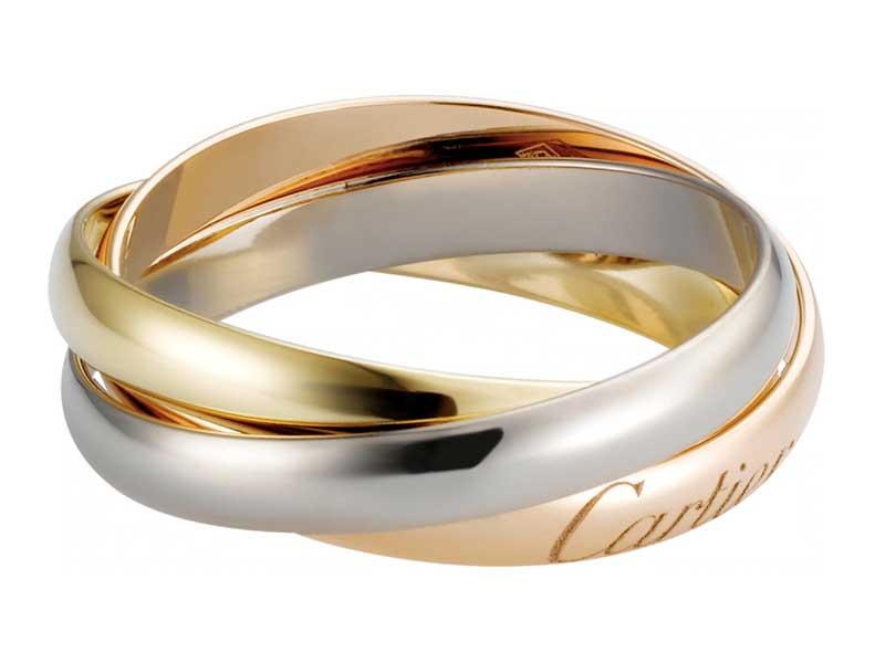 Cartier是不少人的婚戒之選,特別是經典的Trinity 及 Love 系列