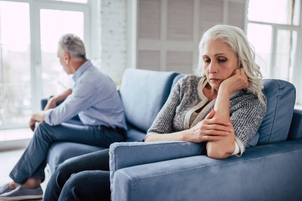 熟齡婚姻 雙方愈看愈厭