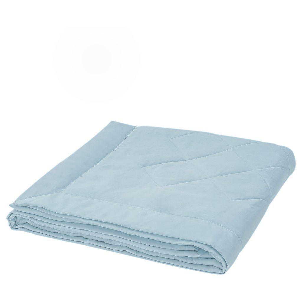 IKEA BLÅNEPETA淺藍色涼被