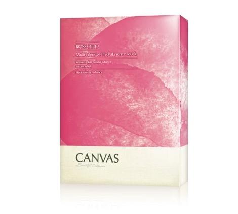 CANVAS 玫瑰高效保濕精華面膜