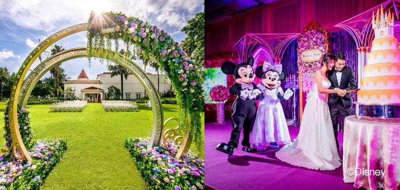 準新人同情侶都要去!#WeddingMustGoOn 夢幻婚禮嘉年華首度登陸迪士尼