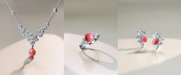 粉紅珍珠 不一樣的華麗嫁飾