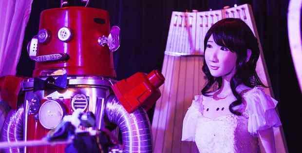前所未見!日本機械人結婚行禮