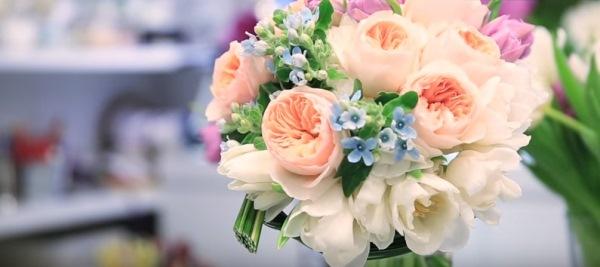 有片!D.I.Y. 小清新的新娘花球