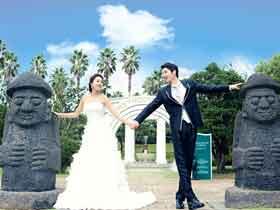 到濟州拍婚照