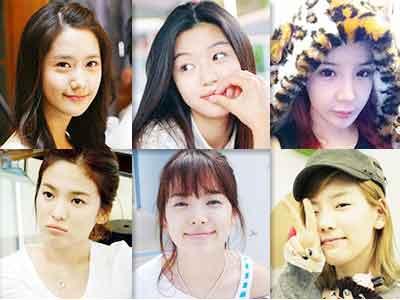 韓風星期二 女星偽素顏妝