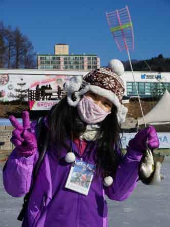 冬季冰釣之樂盡在華川