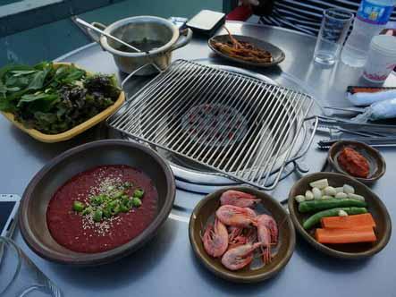 釜山清沙浦烤海鮮