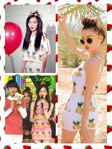 夏季韓國最流行的2 大人氣圖案,NicNic依家話你知 (下)