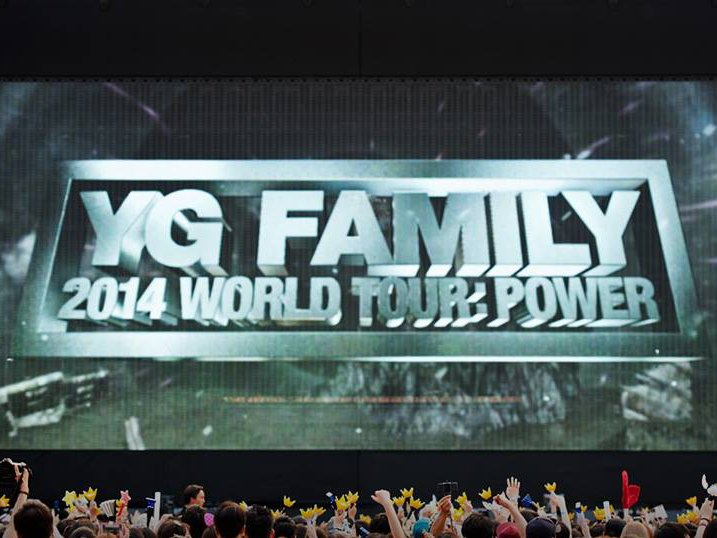 YG FAMILY 2014 WORLD TOUR POWER 首爾場演唱會心得